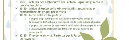 GITA A CAVRIGLIA VISITA DI MINE E PIC-NIC AL PARCO....