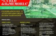73ESIMO ANNIVERSARIO ECCIDI NAZIFASCISTI PERPETRATI NEL COMUNE DI CAVRIGLIA