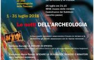 LE NOTTI DELL'ARCHEOLOGIA 2018