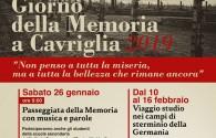 IL GIORNO DELLA MEMORIA A CAVRIGLIA 2019