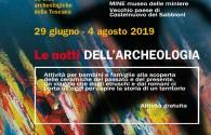 LE NOTTI DELL'ARCHEOLOGIA 2019 - PICCOLI COCCIAI....