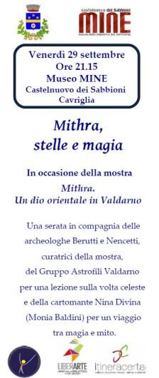 Mithra, stelle e magia.